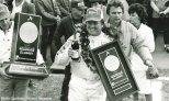 AJ Foyt es el líder en victorias en el trazado con forma de triángulo, mismas que forman parte de sus nueve éxitos en eventos de tal duración (FOTO: Pocono Raceway)