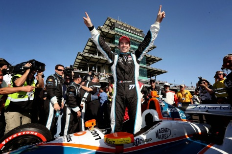 Pagenaud fue el primer ganador del evento, con Schmidt Peterson (FOTO: IMS, LLC Photo)