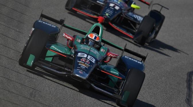 """Newgarden y Rossi hablan sobre el """"halo"""" en IndyCar"""