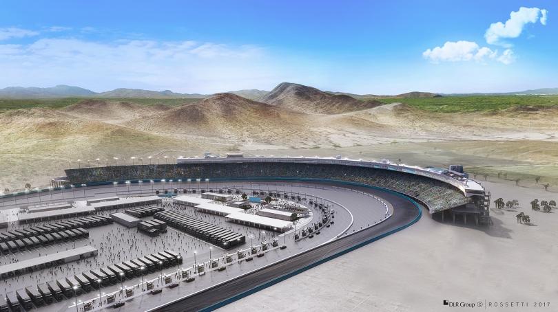 Las gradas de la actual recta principal serán demolidas, para enfocarse en las que hoy son las Curvas 1 y 2. FOTO: Phoenix Raceway