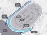 Phoenix Raceway pasará la línea de meta hasta el final de las curvas 1 y 2. FOTO: Phoenix Raceway