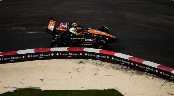 Los pilotos de IndyCar quedan cerca de la final del ROC