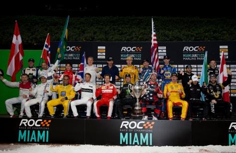 Los participantes en la edición 2017 del evento. FOTO: Race of Champions