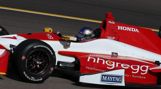 Andretti lidera sesión nocturna