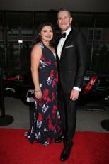 Charlie Kimball y su esposa Kathleen (FOTO: Chris Jones/INDYCAR)