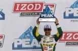 La primera carrera de Tony Kanaan con KV resultó con un tercer sitio en St. Petersburg, en 2011; además, lideraba en el evento de Las Vegas (FOTO: Chris Jones/INDYCAR)