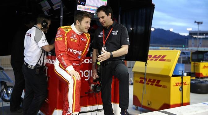 Andretti comenzó a trabajar con Bryan Herta