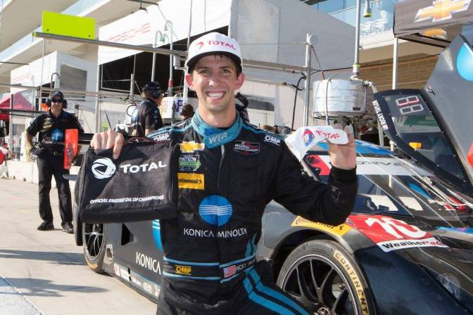 Ricky Taylor también probó un IndyCar