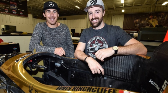 Hinchcliffe y Wickens intercambiarán autos