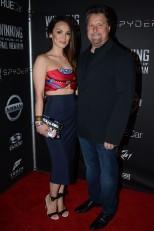 Michael Andretti con su esposa Jodi (FOTO: Chris Owens/INDYCAR)