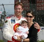 Sébastien Bourdais y su esposa Claire en 2007 (FOTO: Archivo)