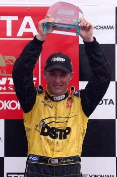 Hand ganando en Fórmula Atlantic. FOTO: Archivo