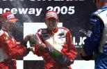 En su regreso a la serie, Cristiano da Matta logró el primero de siete triunfos de KV, en Portland 2005 (FOTO: Archivo)