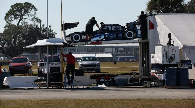 Se terminan los tests previos al arranque de la IndyCar