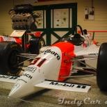 Quizá el auto más dominante en la historia de Indianapolis en la era moderna: el PC23, propulsado por Mercedes-Benz, que llevó a Al Unser Jr. a la victoria en 1994.