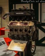 El motor en cuestión fue un Mercedes-Benz 500I V8t, capaz de producir 1000 caballos de fuerza; entre Unser Jr. y Fittipaldi lideraron 193 vueltas.