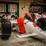 El vehículo PC22 con el que Emerson Fittipaldi ganó la Indy 500 de 1993.