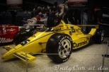 El March 86C-Cosworth DFX V8t con el que Al Unser ganó su cuarta Indy 500, en 1987.