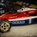 El modelo PC-6 Cosworth DFX V8t con el que Rick Mears ganó el primer campeonato de CART y la Indy 500 de 1979.
