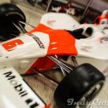 El Panoz G-Force Toyota GF09 manejado por Gil de Ferran al ganar la Indy 500 de 2003.