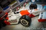 El Dallara IR-05 Honda Indy V8 con el que Sam Hornish Jr. ganó la Indy 500 en 2006.