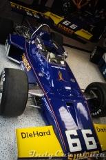 """El vehículo que forjó las bases de la leyenda: el McLaren M16B, ganador de la Indy 500 de 1972 con Mark Donohue al volante. Fue la primera victoria de Penske en las """"500's""""."""
