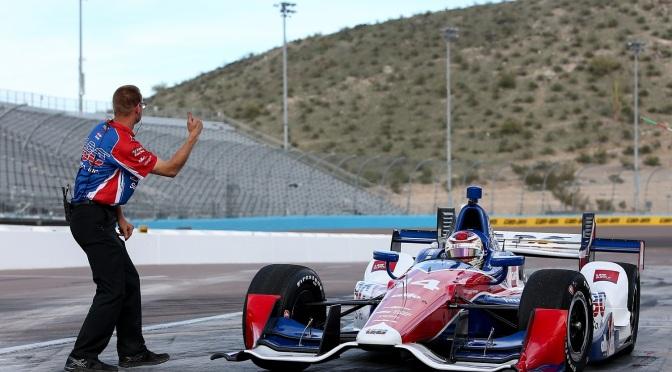 En vivo: Open Test en Phoenix Raceway