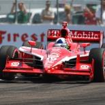 La única victoria de Dario Franchitti (y de Chip Ganassi al momento) en las calles de Florida llegó en 2010, al liderar 94 de 100 vueltas (FOTO: Chris Jones/INDYCAR)