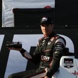 El año de campeonato de Will Power arrancó con el pie derecho, al liderar 74 giros y contener la presión de Ryan Hunter-Reay (FOTO: Chris Jones/INDYCAR)