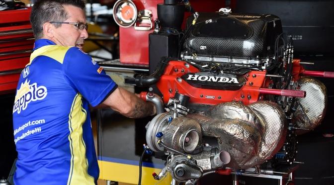 El renovado motor de Honda para 2017
