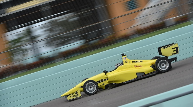 O'Ward, rumbo al debut en Indy Lights