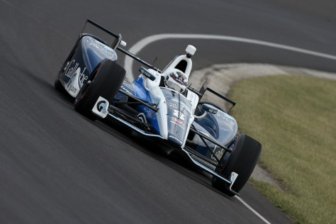 No. 8: Max Chilton, Chip Ganassi Racing/Honda (FOTO: Joe Skibinski/INDYCAR)