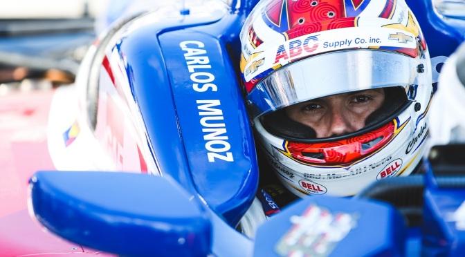 Muñoz inicia nueva etapa en la IndyCar