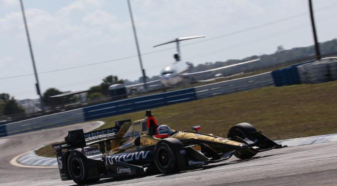 Derani, contento con el test en un IndyCar