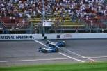 Desde la posición No. 21, Patrick Carpentier ganó la Michigan 500 (CART) de 2001, siendo su primera victoria en la especialidad. Solo lideró tres vueltas (FOTO: Archivo)