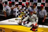 """Víctor """"Vitolo"""" García tuvo un paso fugaz por la Indy Lights, pero ganó en Alabama, en 2011, también con Team Moore Racing. Además, fue 7° en la Freedom 100 en Indy (FOTO: INDYCAR)"""