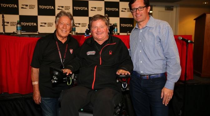 Sam Schmidt enfrentará a Mario Andretti en Indy