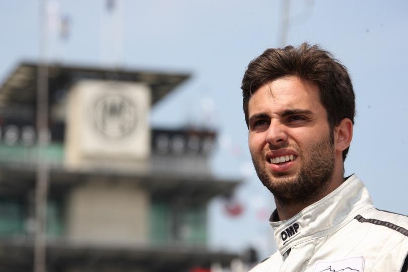 En Indy Lights, Adrián Campos Jr. tuvo su paso con Team Moore Racing en 2010, sumando tres cuartos lugares y concluyendo sexto en la puntuación (FOTO: Chris Jones/INDYCAR)