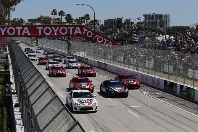 La Carrera de Celebridades de Long Beach quedó en el pasado (FOTO: Chris Jones/INDYCAR)
