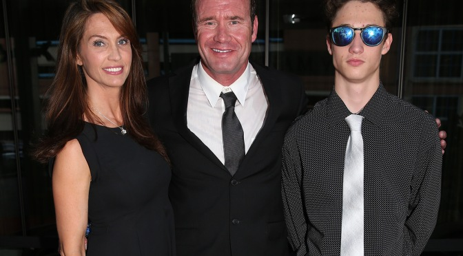 La familia Lazier (FOTO: Chris Jones/INDYCAR)