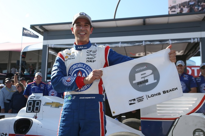 Helio ganó otra pole (FOTO: Chris Jones/INDYCAR)