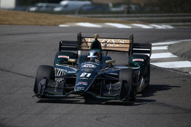 El vehículo No. 21 de Ed Carpenter Racing (FOTO: Chris Jones/INDYCAR)