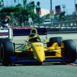 Paul Tracy, una de las personalidades más reconocidas de los últimos 25 años, debutó con Dale Coyne Racing en el Gran Premio de Long Beach de 1991, con un Lola/Cosworth de Dale Coyne Racing. El canadiense clasificó en 14° sitio de una parrilla de 26 coches, pero una falla de motor lo obligó a abandonar (FOTO: Facebook Paul Tracy)