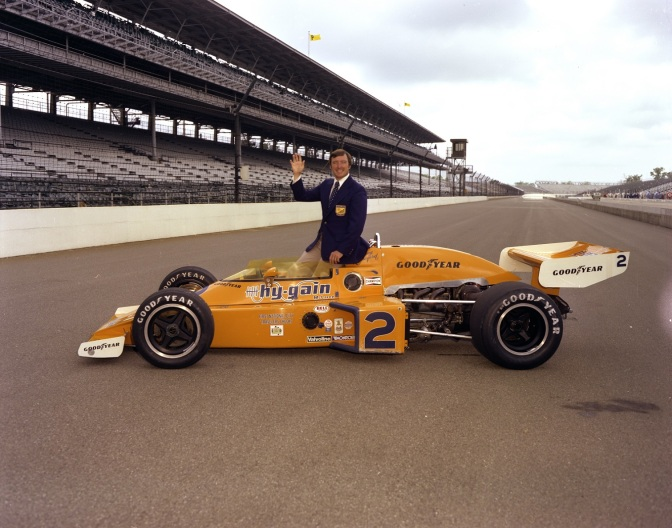El McLaren M16 en 1976 (FOTO: IMS Photo)