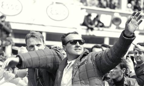 Foyt y Dan Gurney ganaron hace 50 años en Le Mans, con un Ford GT Mk. IV.
