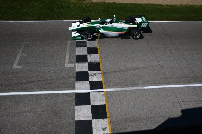 Kaiser (FOTO: Bret Kelley/IMS Photo/Road to Indy)