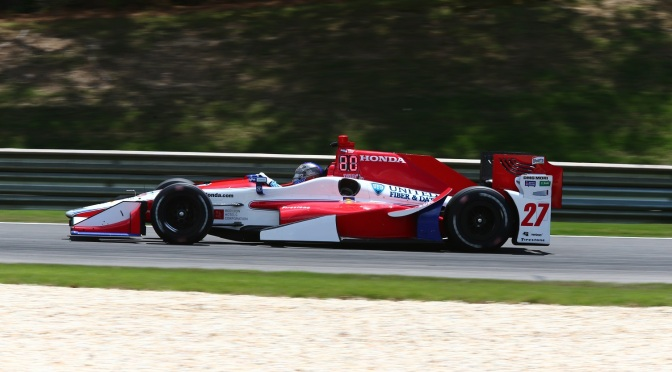 Andretti se adueña del viernes en Barber