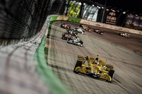 Hunter-Reay (FOTO: Shawn Gritzmacher/INDYCAR)