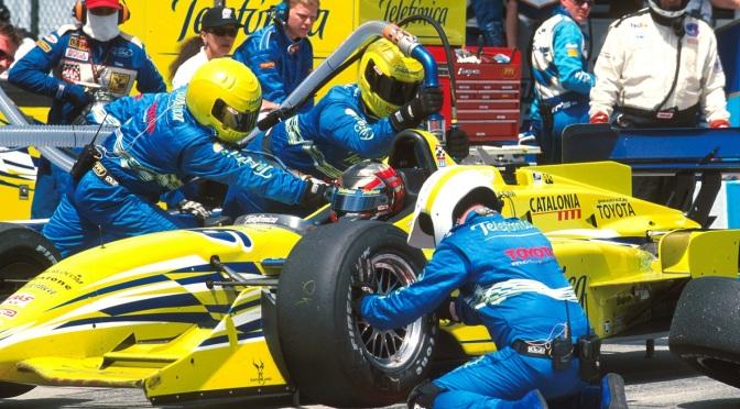Oriol Serviá debutó en CART, en 2000, con Calvin Wells III (FOTO: Archivo)