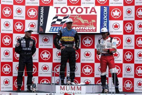 Martín Basso (der.) corrió en Estados Unidos gracias a Michael Shank (FOTO: Archivo)